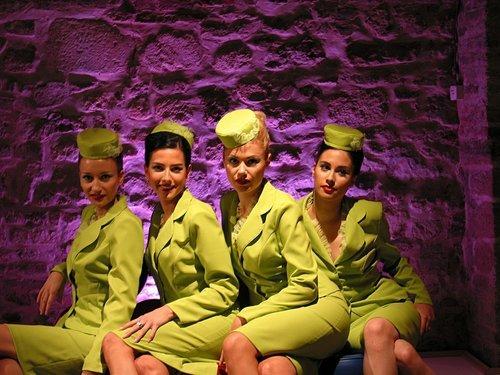 Das Schönheitsgeheimnis von Stewardessen