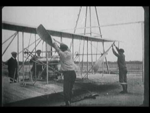 Die Gebrüder Wright —Pioniere im Flugverkehr
